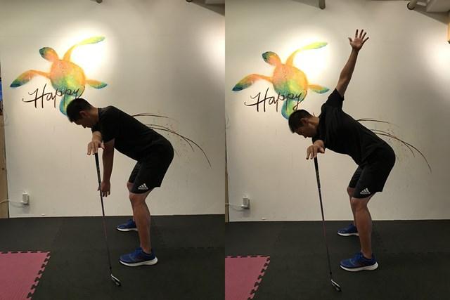 背中ストレッチ 肩と背中の柔軟性を高めます