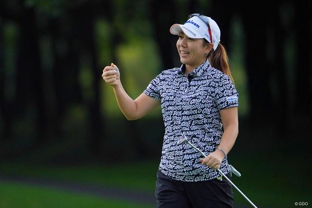 2021年 ニトリレディスゴルフトーナメント 初日 宮里美香 みかちゃんが主婦かぁ。個人的には中学生の頃から時間が進んでません。