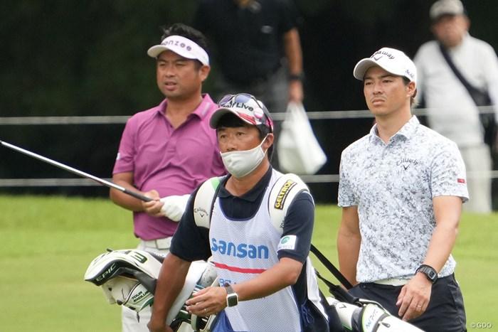 同組でラウンド 2021年 Sansan KBCオーガスタゴルフトーナメント 初日 池田勇太 石川遼