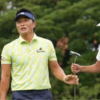 笑顔で楽しくラウンド 2021年 Sansan KBCオーガスタゴルフトーナメント 初日 宮本勝昌
