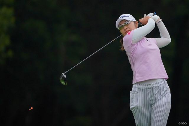 2021年 ニトリレディスゴルフトーナメント 2日目 藤田さいき 66をマークし2位タイに。