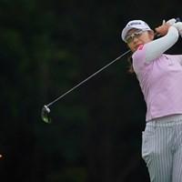 66をマークし2位タイに。 2021年 ニトリレディスゴルフトーナメント 2日目 藤田さいき