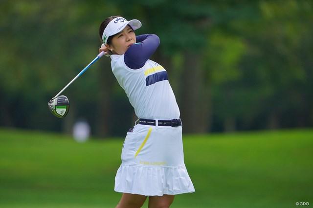 2021年 ニトリレディスゴルフトーナメント 2日目 田中瑞希 残念ながら予選落ちとなってしまった。
