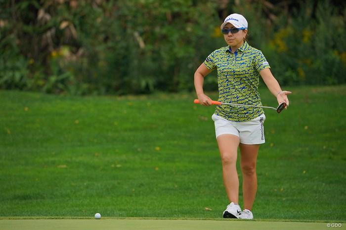 バックナインで巻き返し、11位タイに。 2021年 ニトリレディスゴルフトーナメント 2日目 宮里美香
