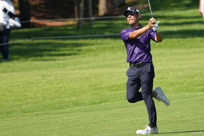 いつもダンディに決める 2021年 Sansan KBCオーガスタゴルフトーナメント 2日目 矢野東