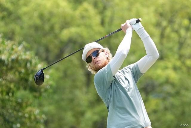 2021年 Sansan KBCオーガスタゴルフトーナメント  3日目 スコット・ビンセント 首位を守ったスコット・ビンセント