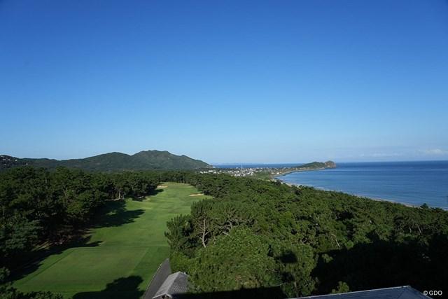 2021年 Sansan KBCオーガスタゴルフトーナメント 3日目 芥屋ゴルフ倶楽部 玄界灘ホール10番