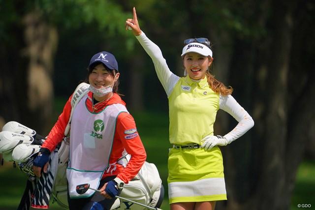 2021年 ニトリレディスゴルフトーナメント 3日目 臼井麗香 3番バーディにフィーバー!