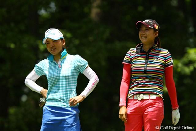 いやぁ、友達ってイイですね。これからもずっと仲良しで、未来のゴルフ界を牽引して下さいね。