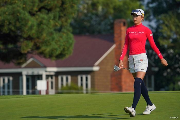 8位タイで最終日へ。 2021年 ニトリレディスゴルフトーナメント 3日目 金田久美子