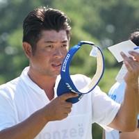 9アンダーで競技終了、もう一つ伸びできず渋い表情 2021年 Sansan KBCオーガスタゴルフトーナメント 3日目 池田勇太