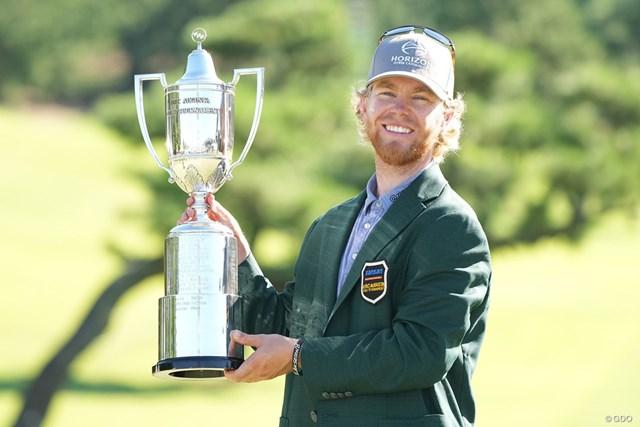 2021年 Sansan KBCオーガスタゴルフトーナメント 最終日 スコット・ビンセント スコット・ビンセントが完全優勝。おめでとうございます