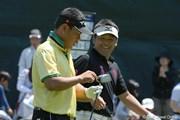 2010年 日本ゴルフツアー選手権 シティバンク カップ 宍戸ヒルズ 3日目 手嶋多一&平塚哲二