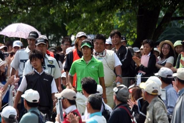 多くのギャラリーや報道陣が石川遼を追うのは仕方の無いことだが・・・