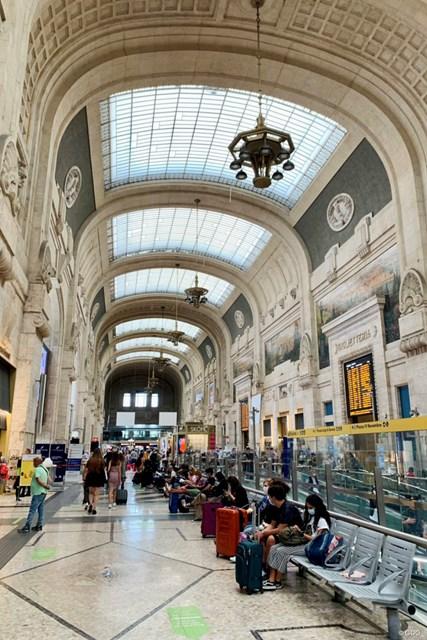 2021年 イタリアオープン 事前 ミラノ中央駅 途中で立ち寄ったミラノ中央駅