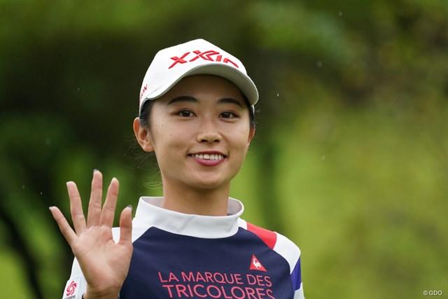 2021年 ゴルフ5レディス プロゴルフトーナメント 初日 安田祐香 いつもおおきに!