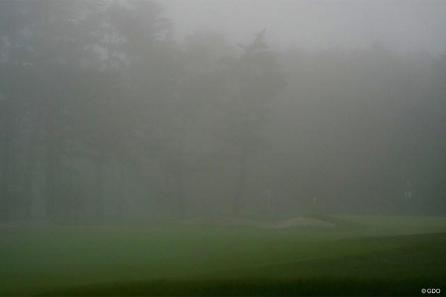 2021年 フジサンケイクラシック  3日目 富士桜CC 3日目も濃霧中断があった富士桜CC
