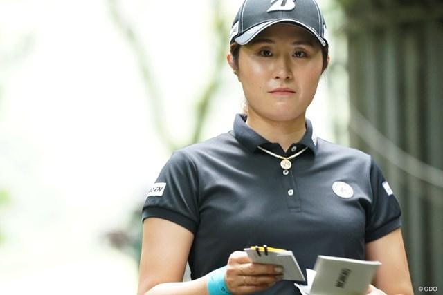 2021年 ゴルフ5レディス プロゴルフトーナメント 2日目 大里桃子 インターバル