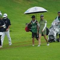 雷発生で引き上げ、あと少しだったのにね 2021年 ゴルフ5レディス プロゴルフトーナメント 2日目 新垣比菜