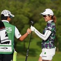 大里桃子が首位で第2ラウンドを終えた 2021年 ゴルフ5レディス プロゴルフトーナメント 3日目