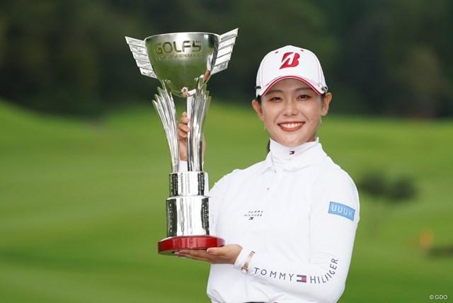 2021年 ゴルフ5レディス プロゴルフトーナメント 4日目 吉田優利 吉田優利がプレーオフを制し、7月に続くツアー2勝目