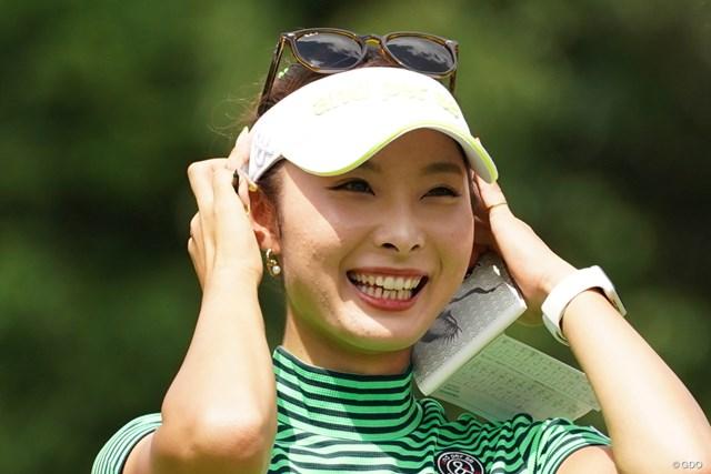 2021年 ゴルフ5レディス プロゴルフトーナメント 最終日 鶴岡果恋 「64」をマークして3位でフィニッシュ