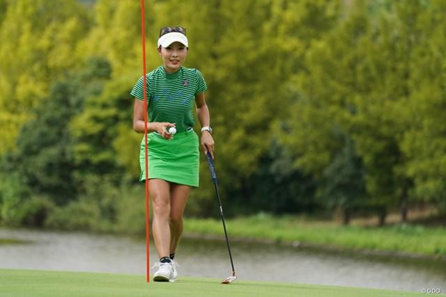 2021年 ゴルフ5レディス プロゴルフトーナメント 最終日 鶴岡果恋 前週の宿題を片付けた鶴岡果恋