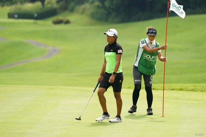 悔しがってるな 2021年 ゴルフ5レディス プロゴルフトーナメント 最終日 野澤真央