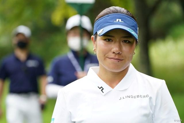 2021年 ゴルフ5レディス プロゴルフトーナメント 最終日 岡山絵里 惜しかったね