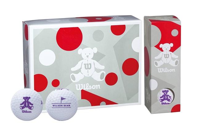 《2021年》初心者におすすめのゴルフボール5選 ウィルソン BEAR4レディスゴルフボール