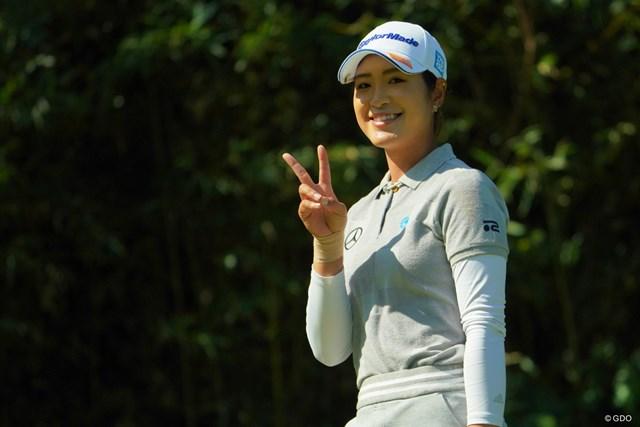 2019年 日本女子オープンゴルフ選手権 3日目 大西葵 大西葵が第1子出産を報告(写真は2019年「日本女子オープン」)