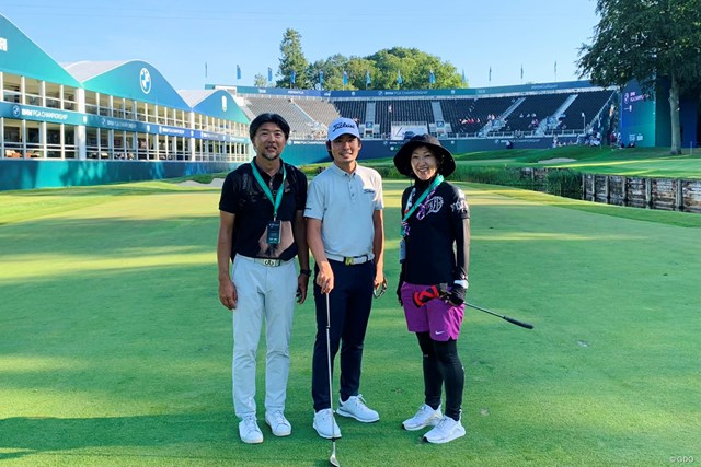 2021年 BMW PGA選手権  事前 川村昌弘 今週は欧州ツアーの準メジャー。イタリアから飛んできました