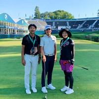 今週は欧州ツアーの準メジャー。イタリアから飛んできました 2021年 BMW PGA選手権  事前 川村昌弘