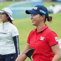 大里桃子との練習ラウンド 2021年 日本女子プロゴルフ選手権大会コニカミノルタ杯  事前 渋野日向子