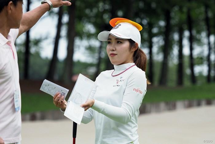 「頭を使ってゴルフをする」という実例 2021年 日本女子プロゴルフ選手権大会コニカミノルタ杯 事前 古江彩佳