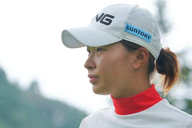 2021年 日本女子プロゴルフ選手権大会コニカミノルタ杯 初日 渋野日向子 渋野日向子は6週ぶりの国内ツアー