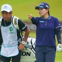やはり飛距離はアドバンテージ。勝みなみが首位発進 2021年 日本女子プロゴルフ選手権大会コニカミノルタ杯 初日 勝みなみ