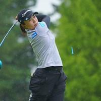 ディフェンディングチャンピオンは102位タイと苦しいスタートに。 2021年 日本女子プロゴルフ選手権大会コニカミノルタ杯 初日 永峰咲希