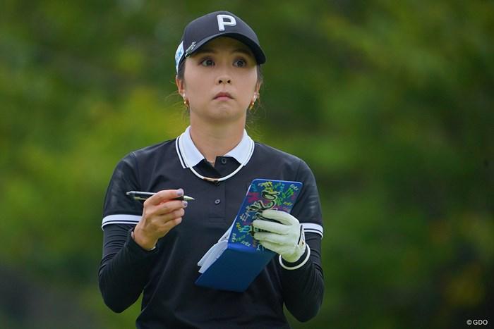 このセッティングでノーボギーとは流石ですねぇ。 2021年 日本女子プロゴルフ選手権大会コニカミノルタ杯 初日 菊地絵理香