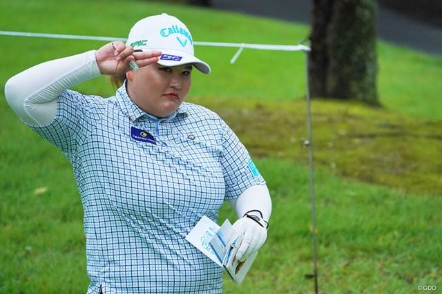 2021年 日本女子プロゴルフ選手権大会コニカミノルタ杯 初日 鈴木麻綾 撮れ高がハンパない。