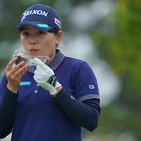 みなみちゃんの勝ち飯はやっぱりお母さんのおにぎりだね。 2021年 日本女子プロゴルフ選手権大会コニカミノルタ杯 初日 勝みなみ