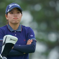 こんなスコアでは満足してませんから。 2021年 日本女子プロゴルフ選手権大会コニカミノルタ杯 初日 勝みなみ