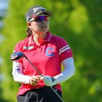 勝みなみが単独首位を守った 2021年 日本女子プロゴルフ選手権大会コニカミノルタ杯 2日目 勝みなみ