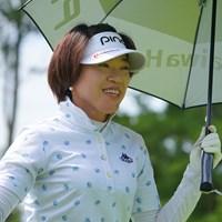 久々の優勝、ありそうですよ。 2021年 日本女子プロゴルフ選手権大会コニカミノルタ杯 2日目 大山志保