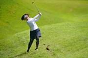 2021年 日本女子プロゴルフ選手権大会コニカミノルタ杯 2日目 大山志保
