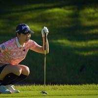 流石ですねぇ。簡単に予選落ちとかしませんから。 2021年 日本女子プロゴルフ選手権大会コニカミノルタ杯 2日目 小祝さくら