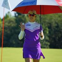 明日はまたバーディラッシュでお願いします! 2021年 日本女子プロゴルフ選手権大会コニカミノルタ杯 2日目 三ヶ島かな