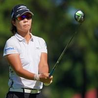 やはりロングヒッター有利なコースなのだろうか。 2021年 日本女子プロゴルフ選手権大会コニカミノルタ杯 2日目 穴井詩