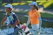 2021年 日本女子プロゴルフ選手権大会コニカミノルタ杯 2日目 稲見萌寧