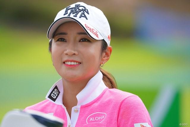 2021年 日本女子プロゴルフ選手権大会コニカミノルタ杯 2日目 イ・ボミ 久々にボミちゃんらしいゴルフでしたね。